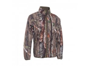 Deerhunter Gamekeeper fleecová bunda oboustranná zelená