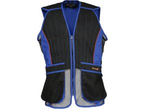 gilet homme percussion ball trap evo noir bleu z 1454 145416