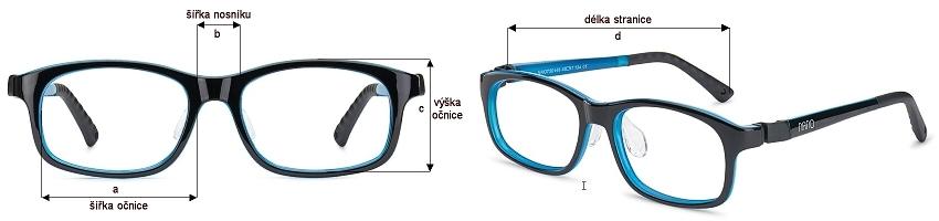 Jak vybrat správnou velikost brýlí