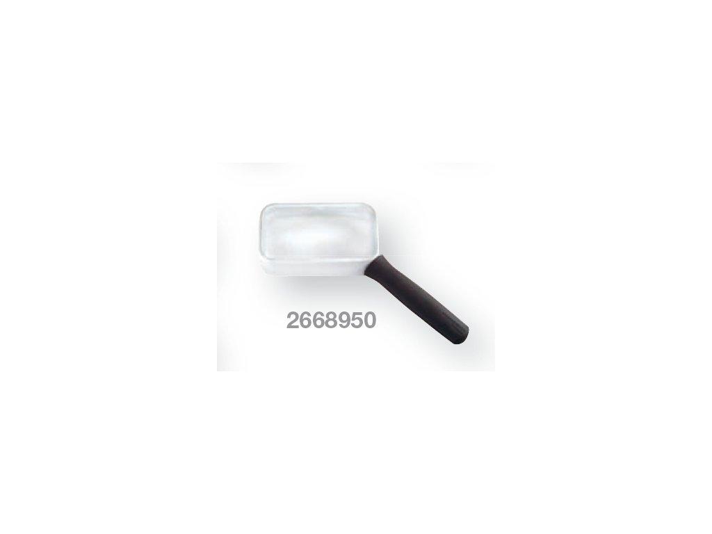 Kapesní lupa aplanatická zvětšení  2,7x