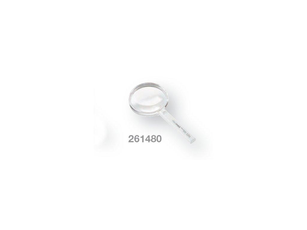 Kapesní lupa bikonvexní zv. 2,3x