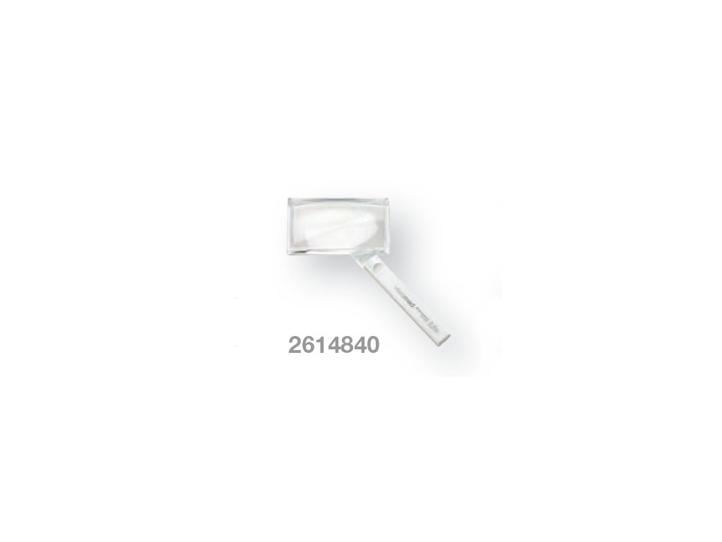 Kapesní lupa bikonvexní zvětšení 2,25x