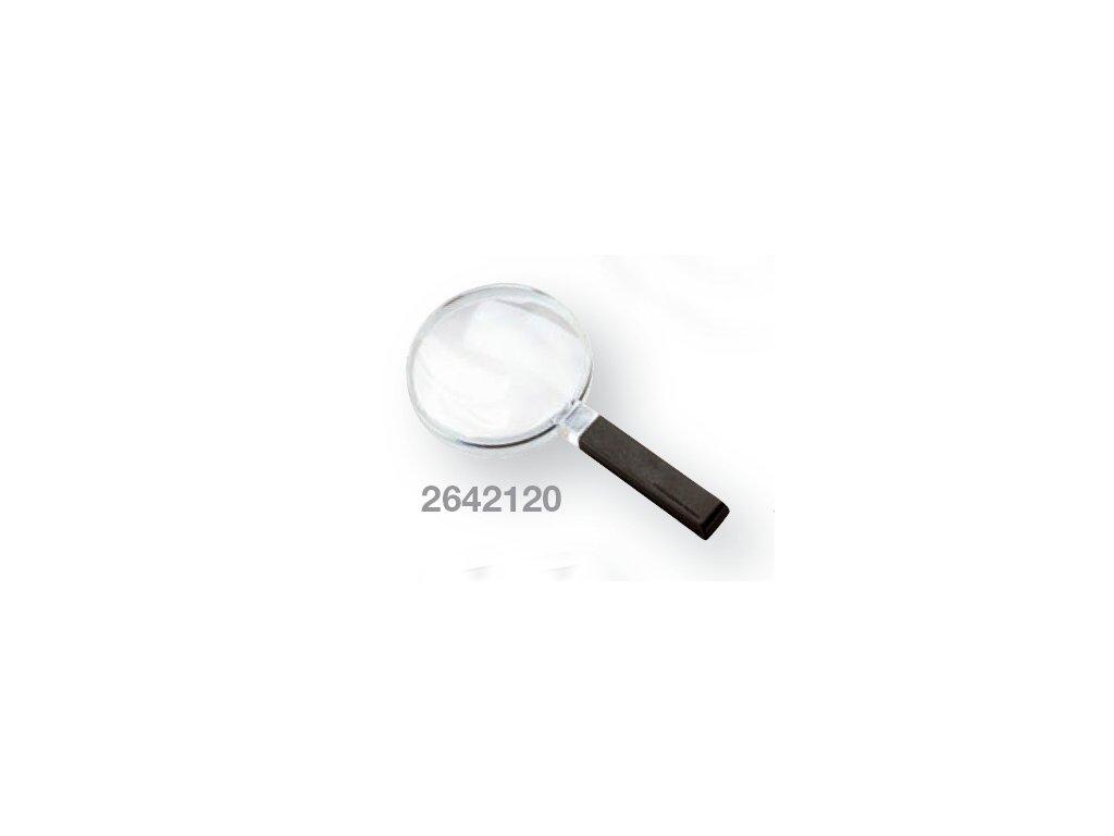 Kapesní lupa bikonvexní zv.  2,0x