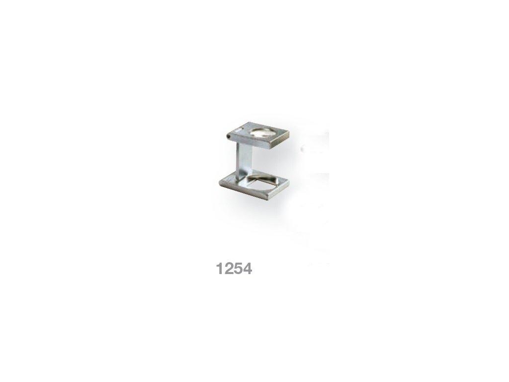 Lupa stojánková kovová skládací zv. 12,0