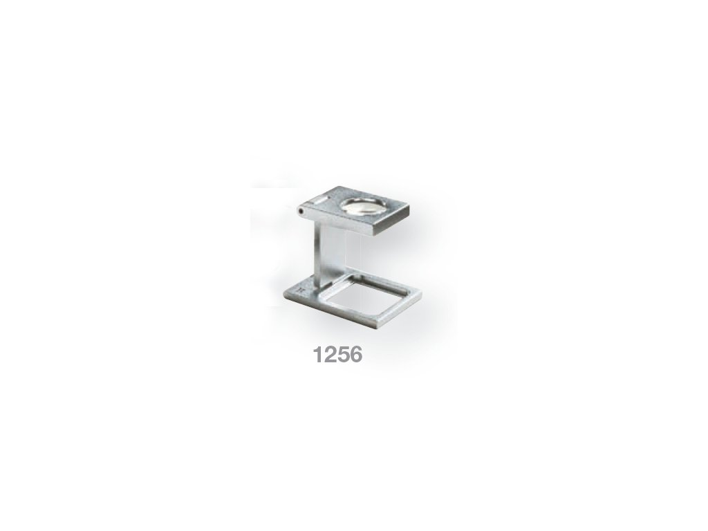 Lupa stojánková kovová skládací zv. 8x