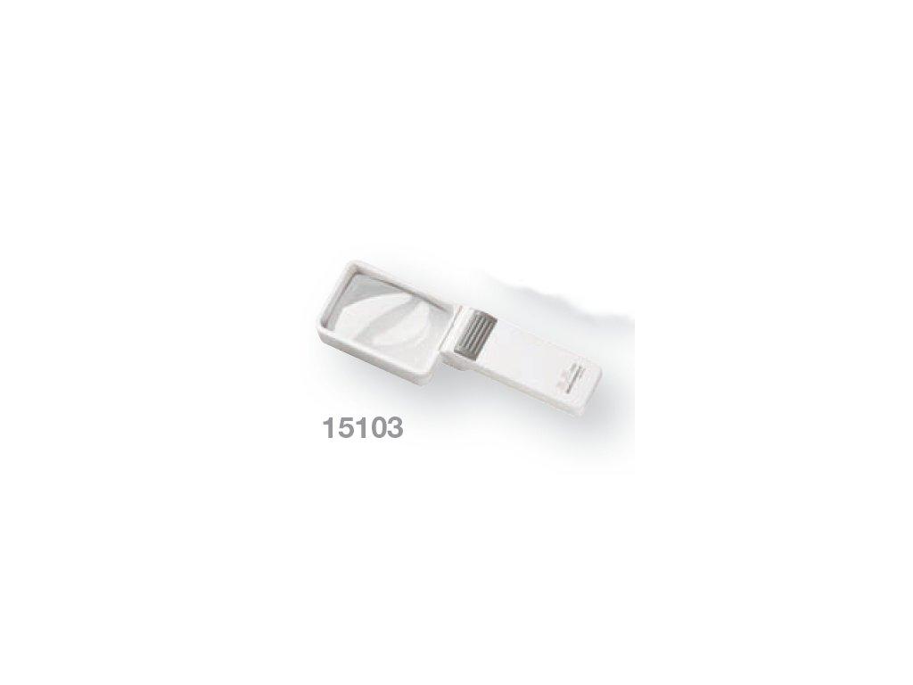 Kapesní lupa s osvětlením zv. 3,5x