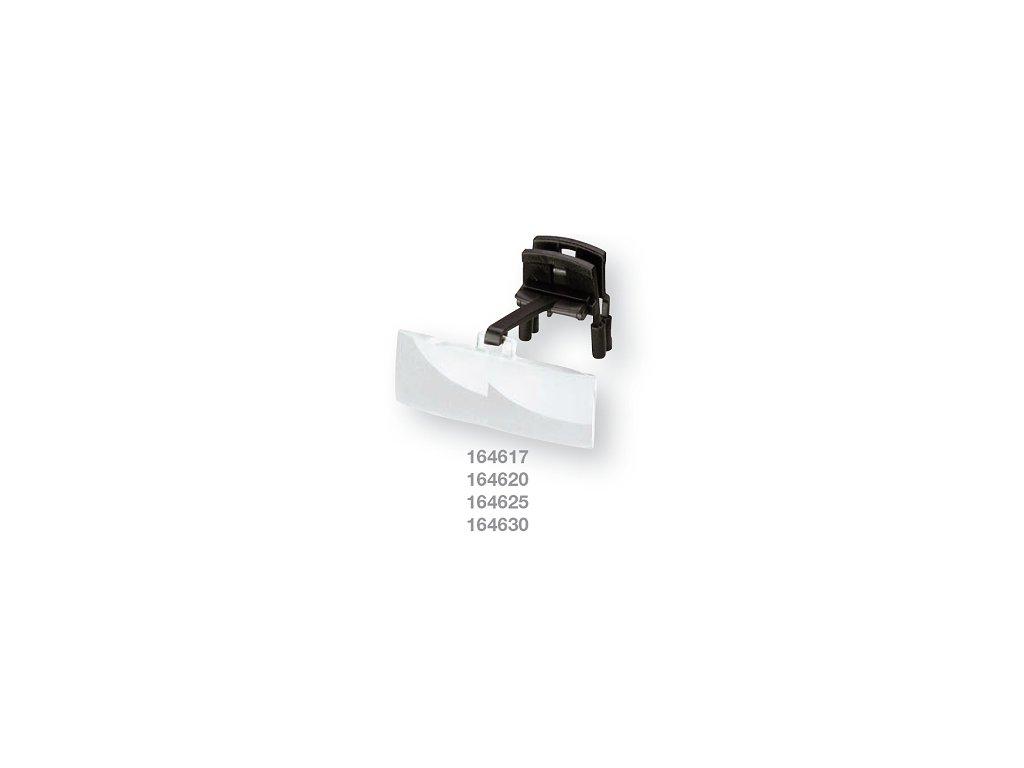 Lupový předvěs bino - labo clip zv. 1,7x