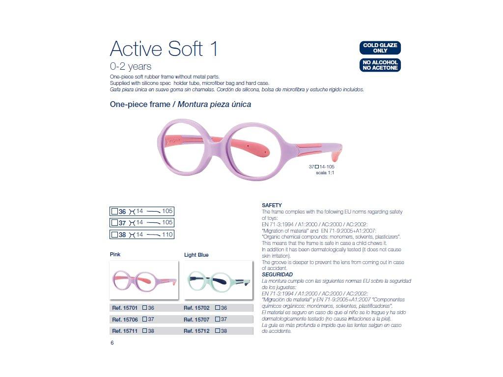 Dětské brýle Soft 1