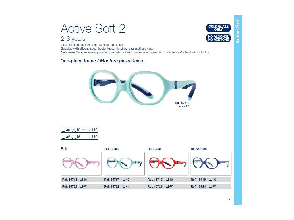 Dětské brýle Soft 2