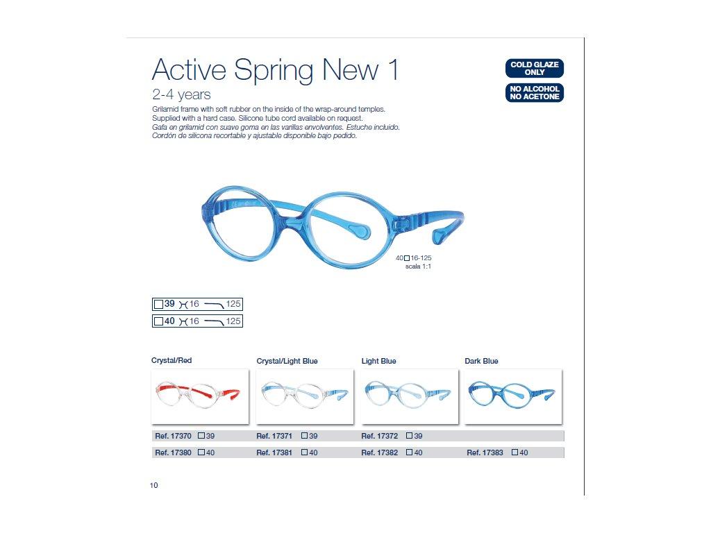 Dětské brýle Active Spring  1 NEW