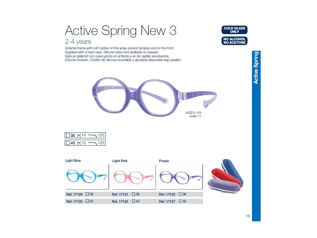 Dětské brýle Active Spring  3 NEW