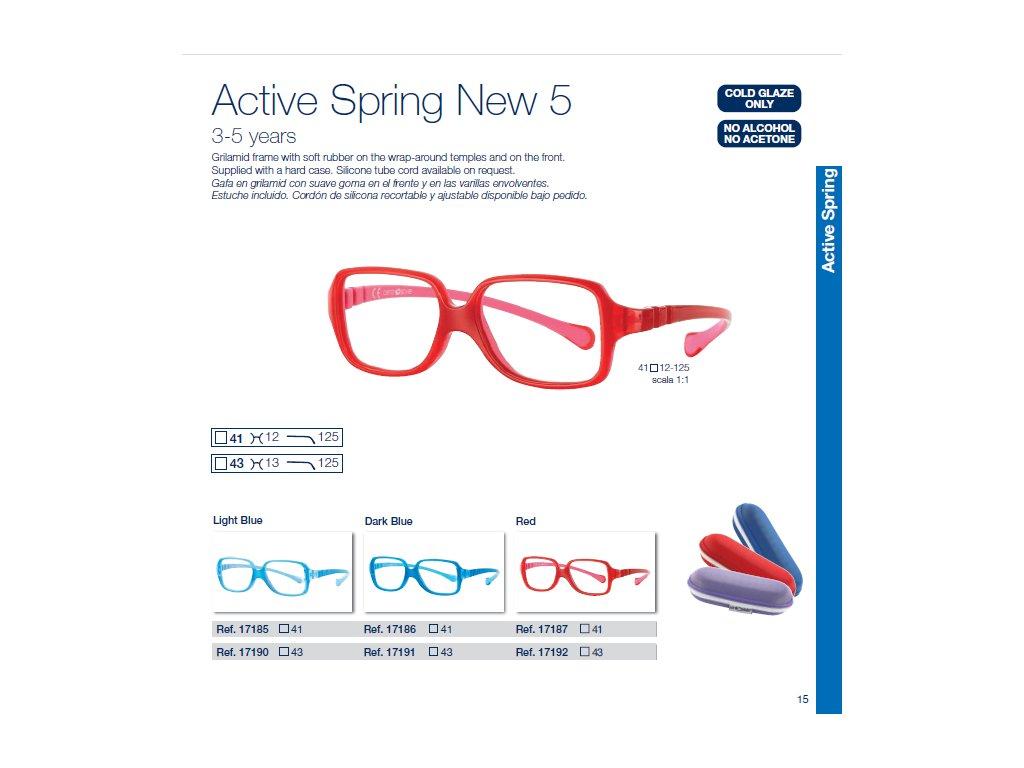 Dětské brýle Active Spring  5 NEW