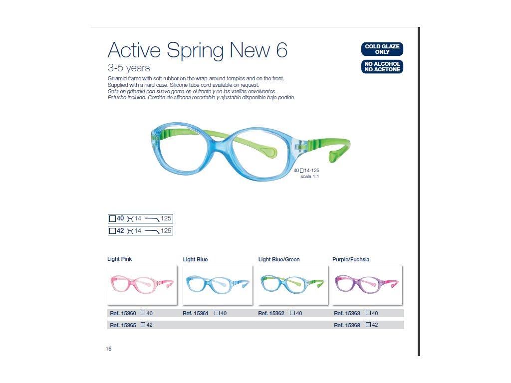 Dětské brýle Active Spring  6 NEW