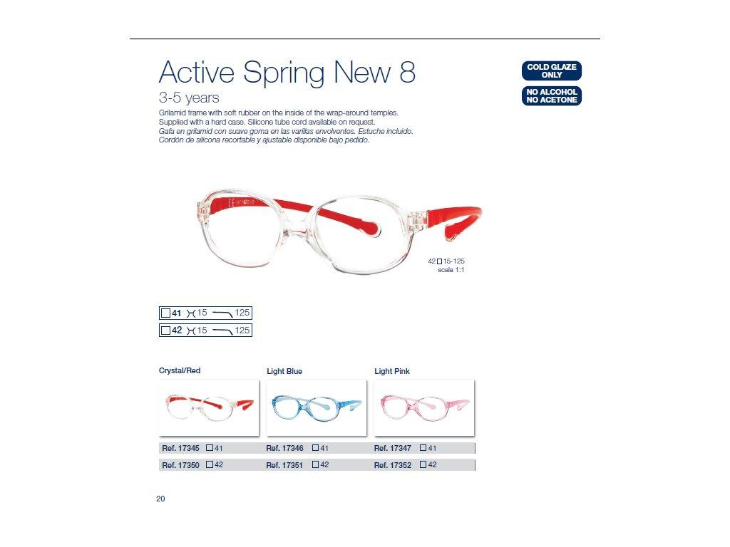 Dětské brýle Active Spring  8 NEW
