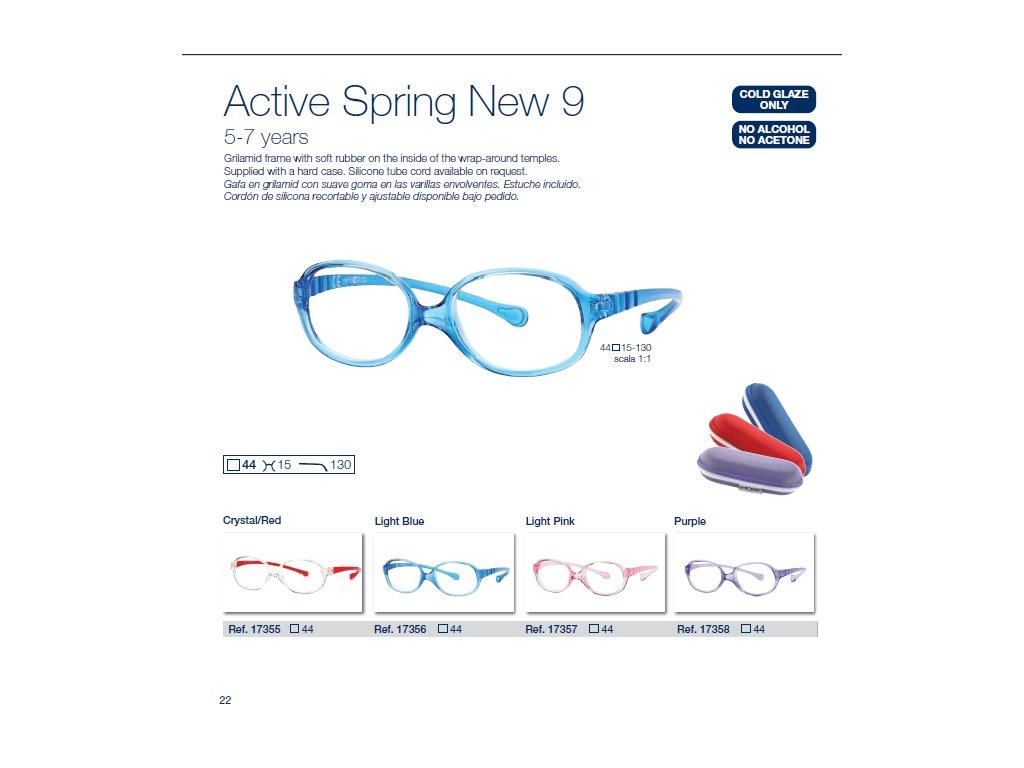 Dětské brýle Active Spring  9 NEW