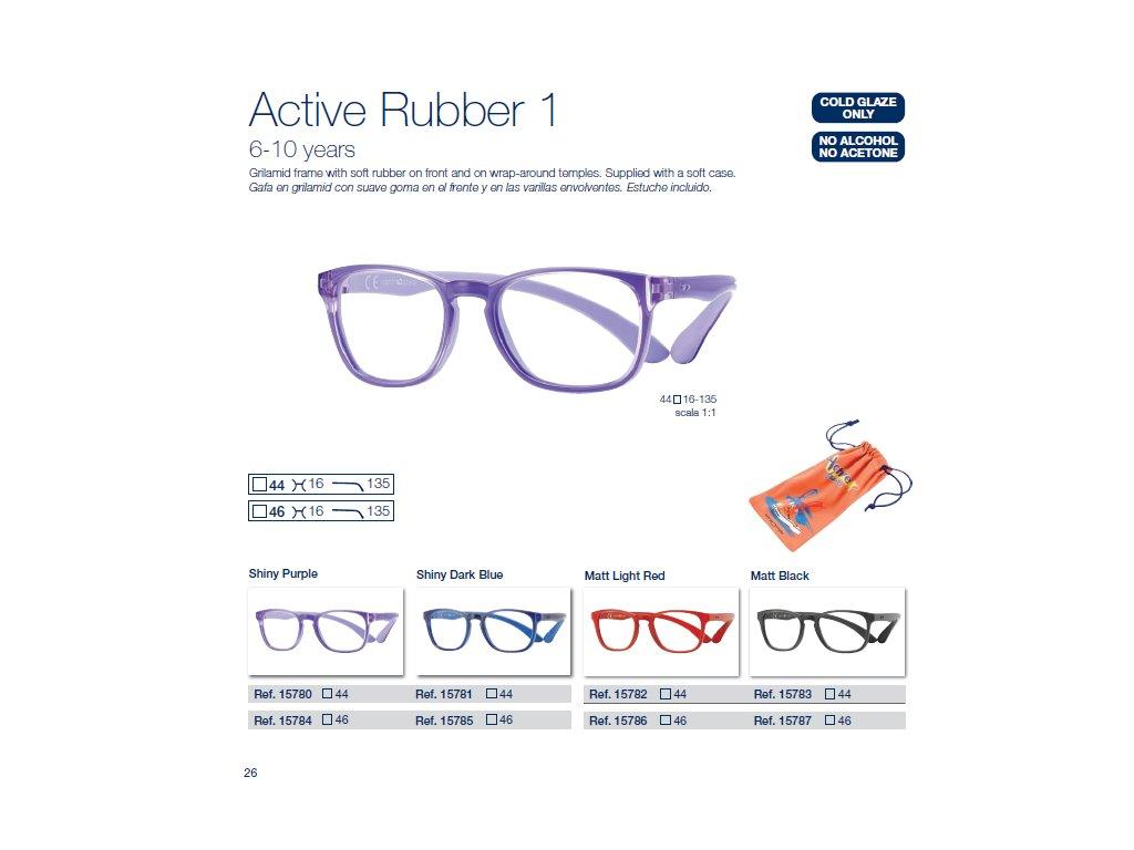 Dětské brýle Active Rubber  1