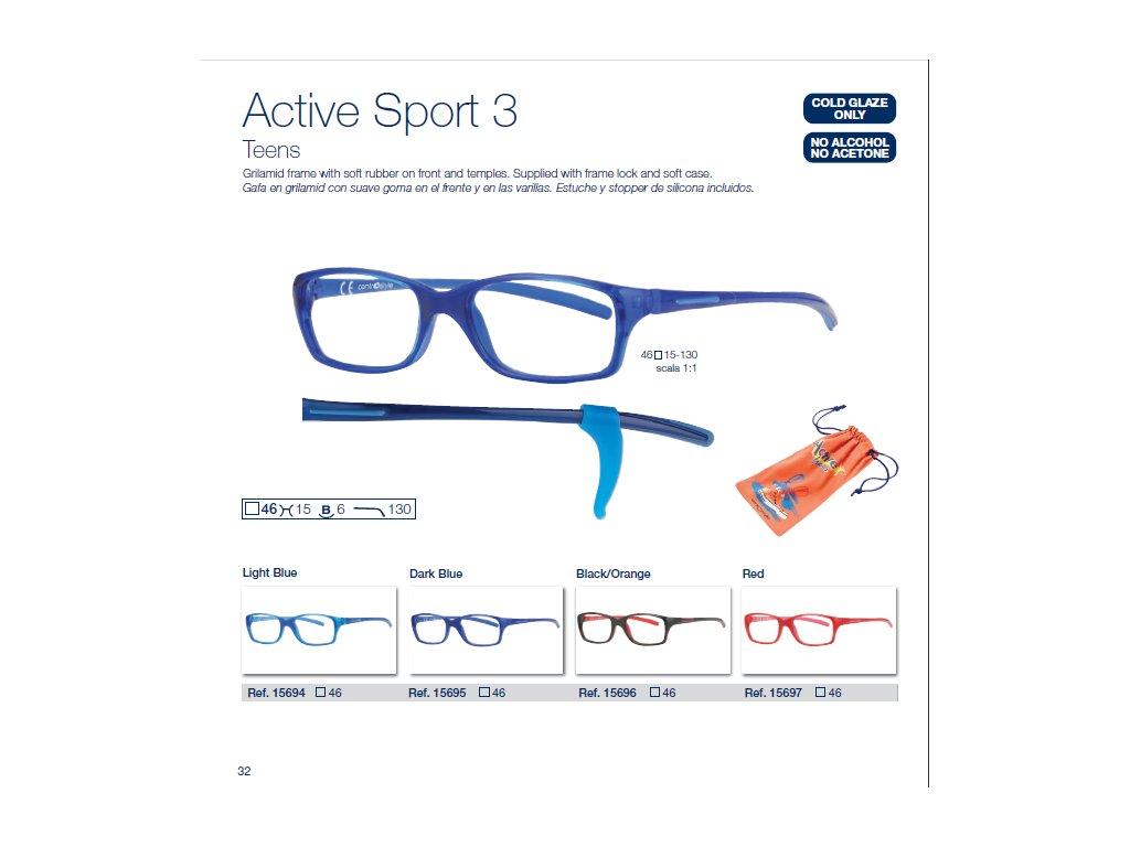 Dětské brýle Active Sport  3