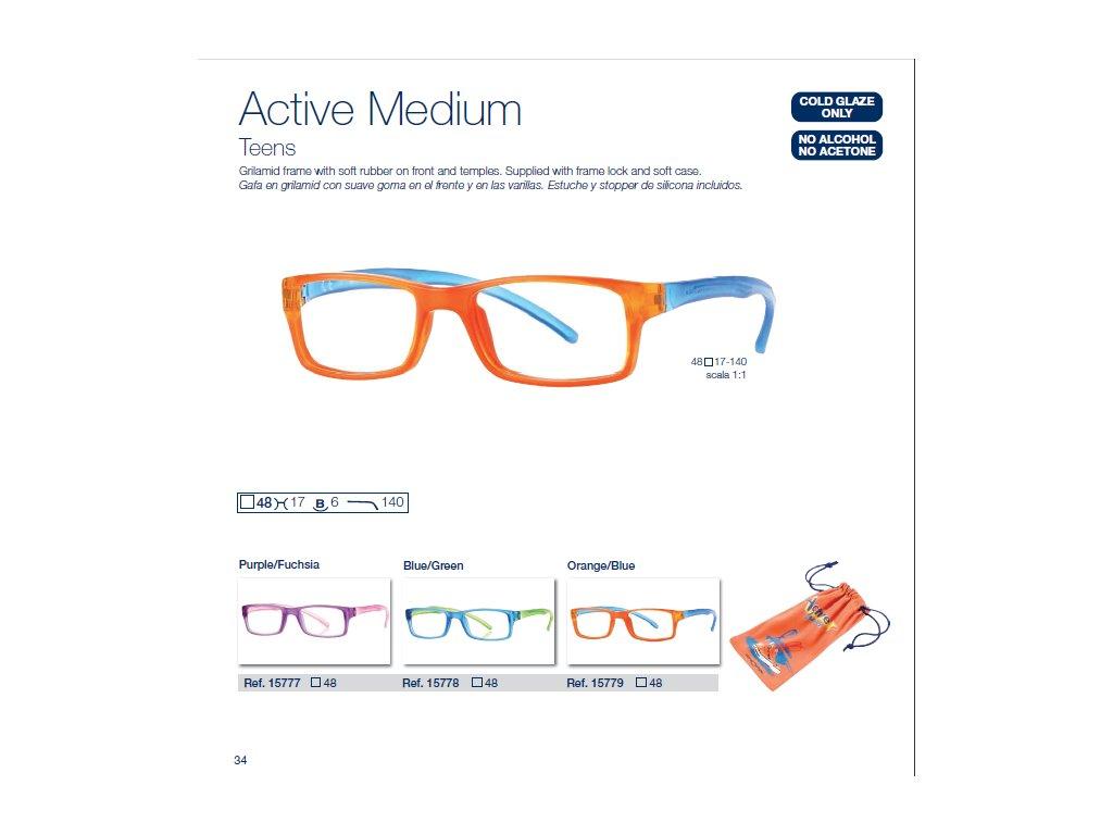 Dětské brýle Active Medium