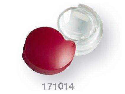 Kapesní lupa v plastovém pouzdře zv. 4x