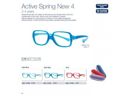 Dětské brýle Active Spring  4 NEW