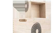 Dřevěné krabičky a boxy