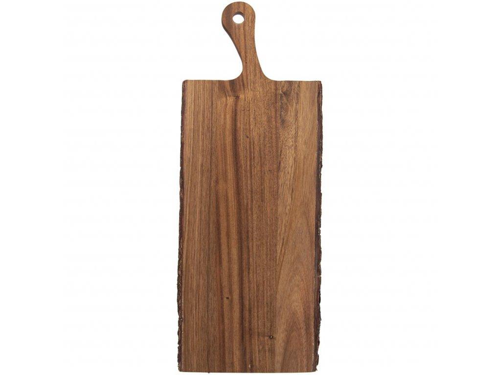 3872 krajeci prkenko z akacie s rukojeti 56 x 20 cm