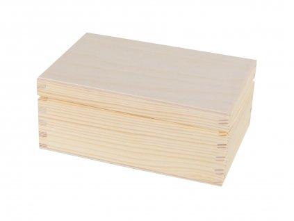 4571 drevena krabicka s vikem 16 x 11 5 x 7 cm
