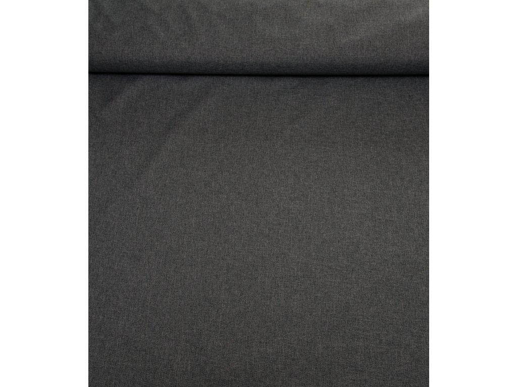 Kočárkovina - L92 melír středně šedý