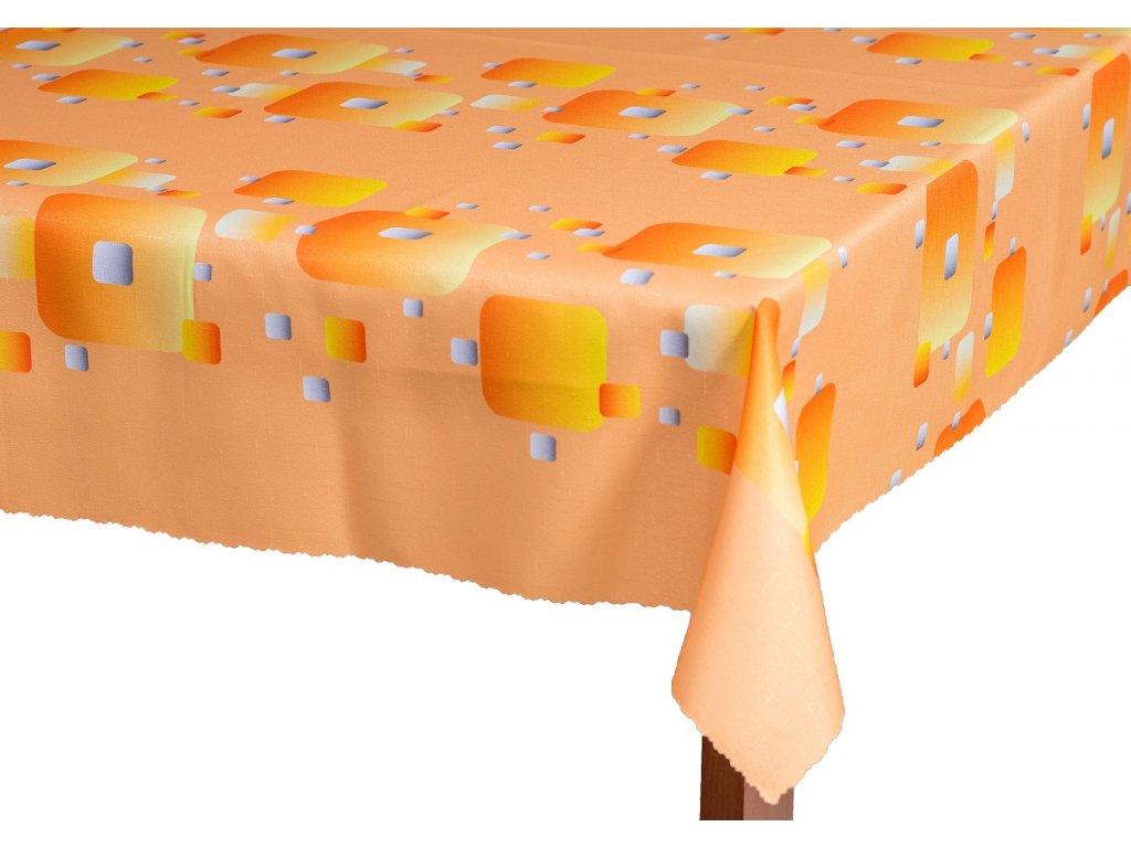 ubrus teflonový R03 - oranžový