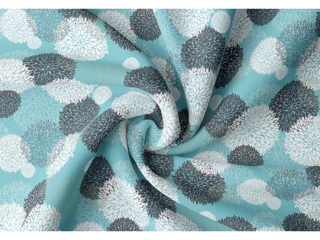Zatemňovací závěs hotový - magnolie růžovohnědá