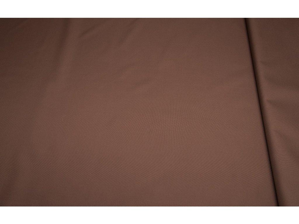 Kočárkovina š.160cm uni hnědá - vzorek