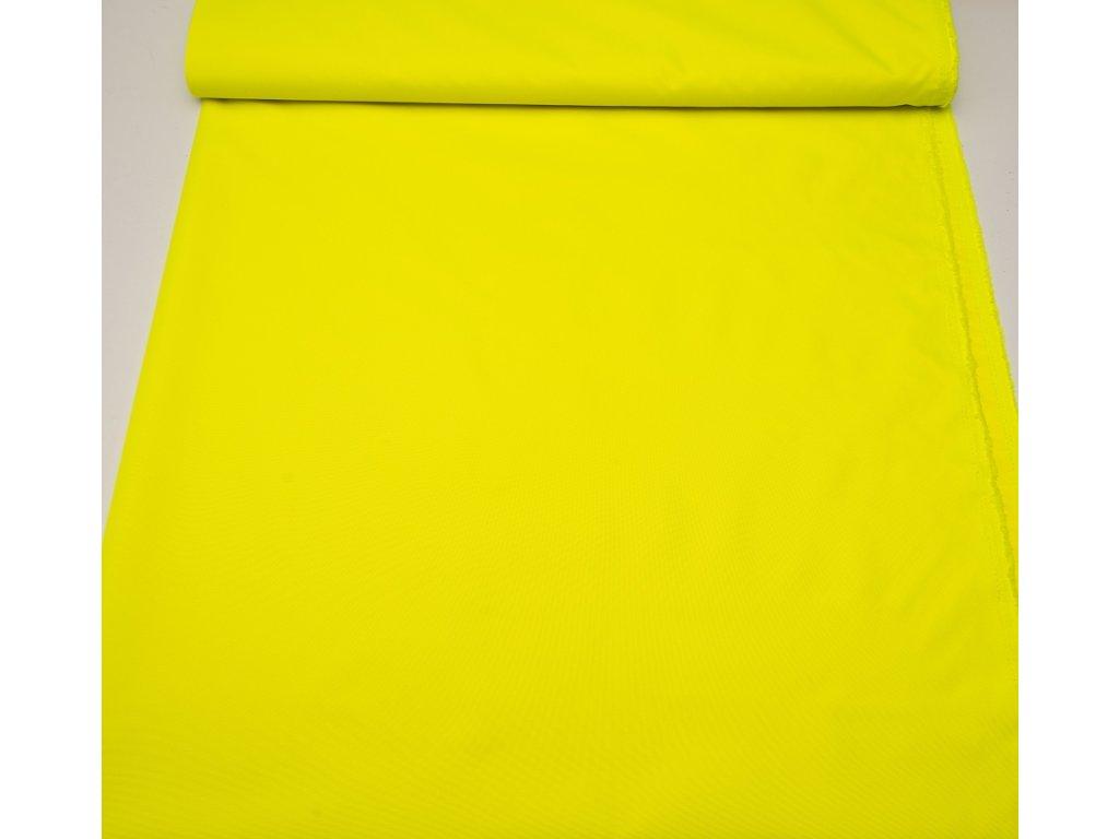 Kočárkovina š.160cm uni reflexní žlutá - vzorek