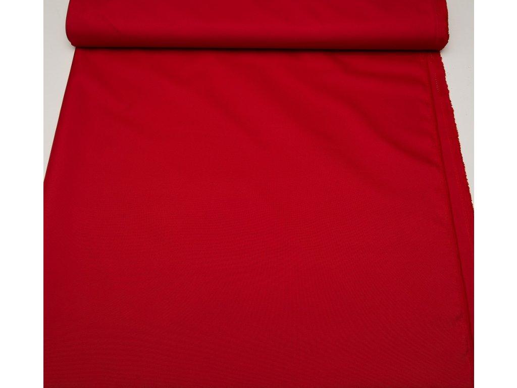 Kočárkovina š.160cm uni červená - vzorek