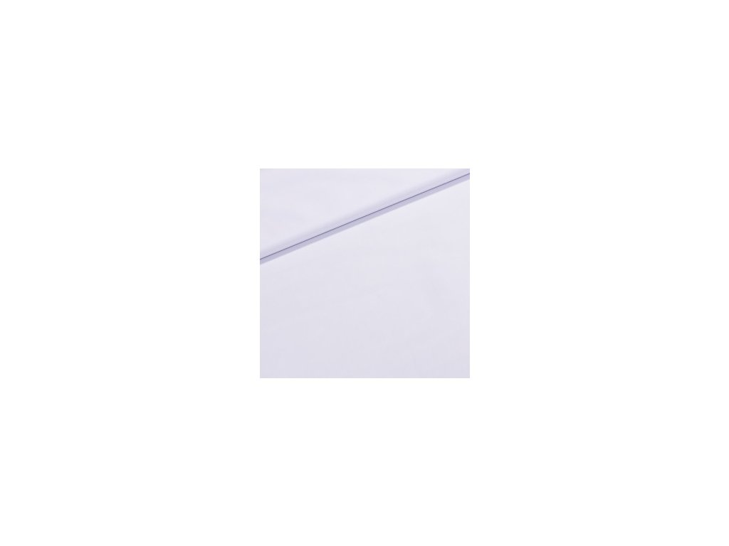 Kočárkovina š.160cm uni bílá - vzorek