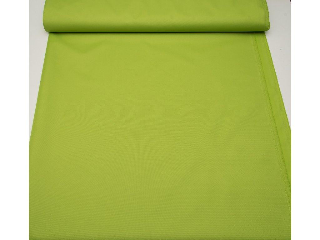 Kočárkovina š.160cm uni sv.zelená 610 - vzorek