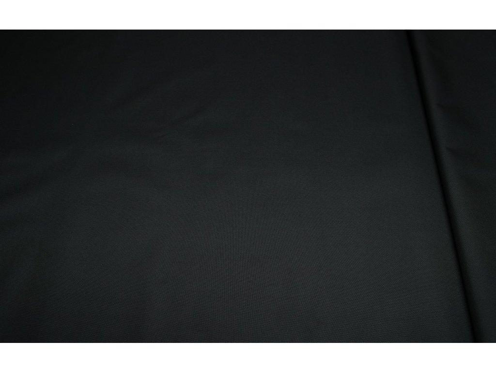 Kočárkovina š.160cm uni černá - vzorek