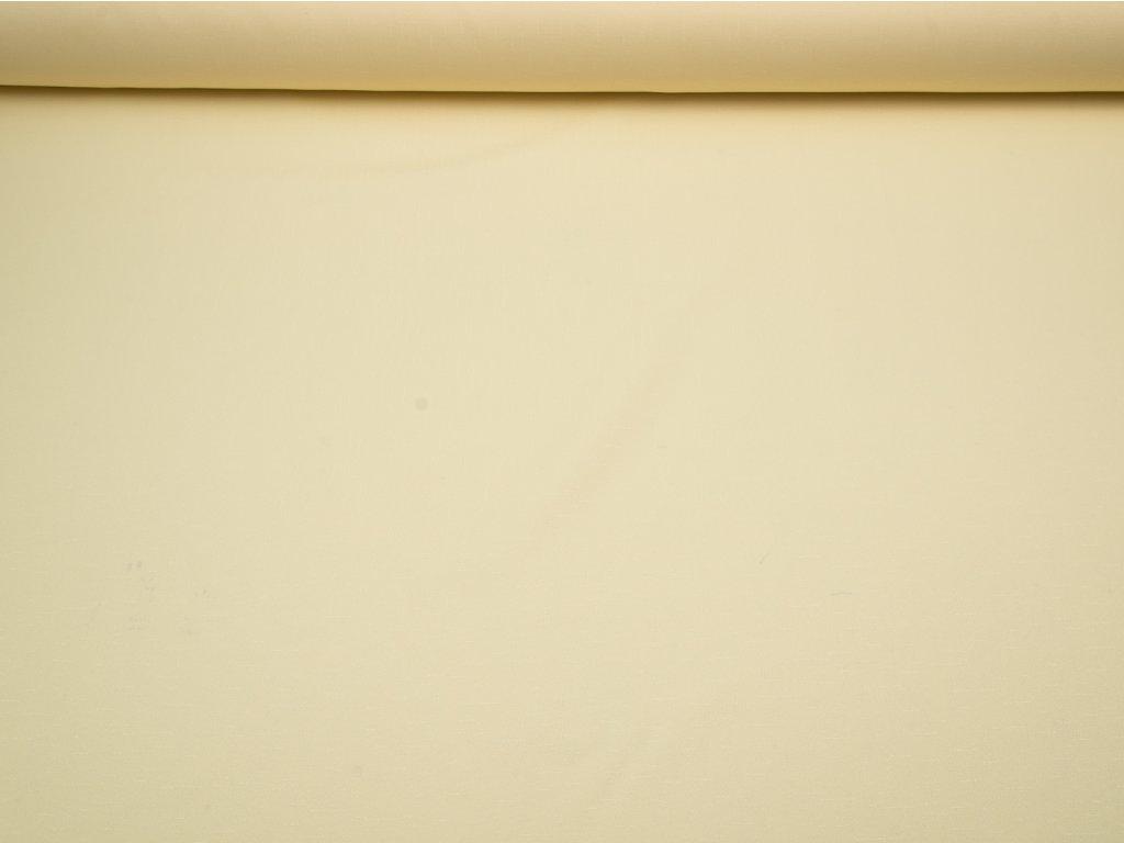 Látka s nešpinivou úpravou šíře 160 cm, oboustranná - smetanová