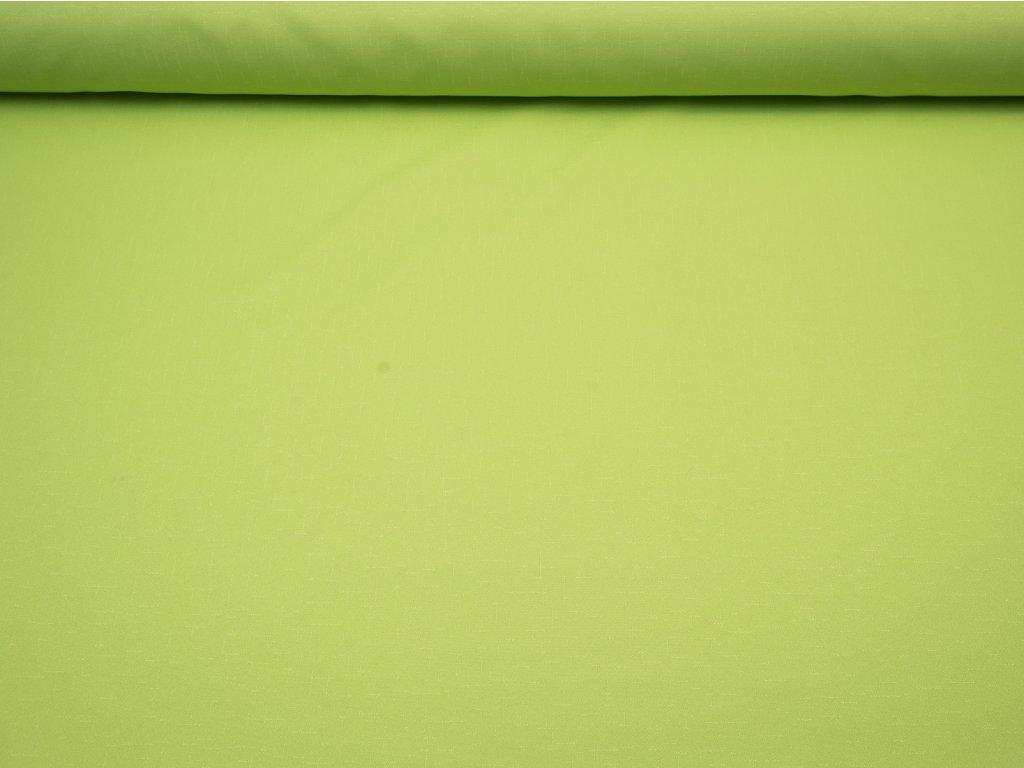 Látka s nešpinivou úpravou šíře 160 cm, oboustranná - hrášková