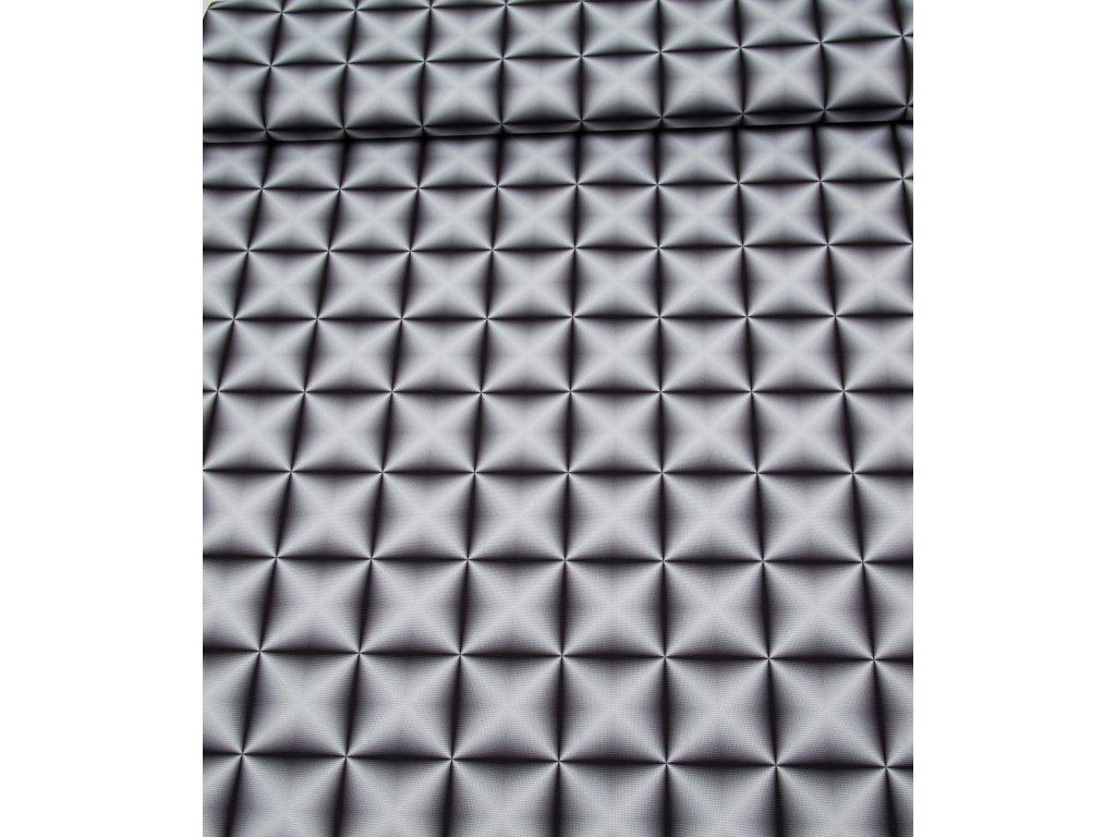 Kočárkovina pruh tyrkysový - AKCE - kus 1,50m