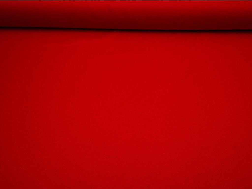 Nešpinivá látka červená - vzorek