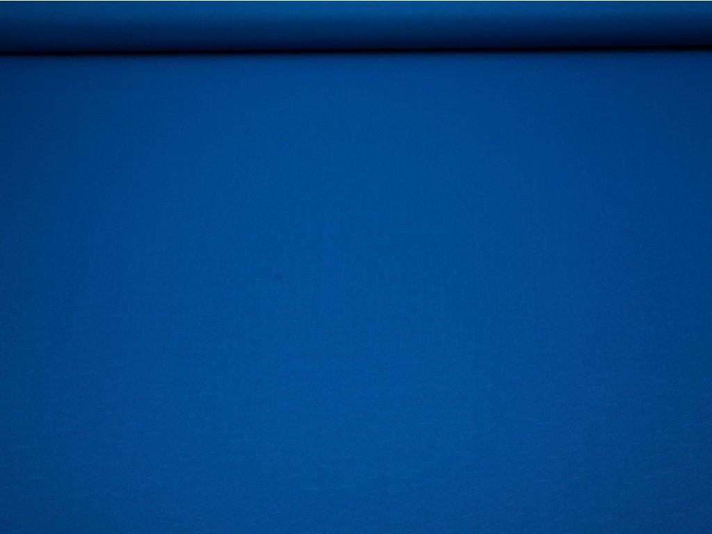 Nešpinivá látka modrá - vzorek