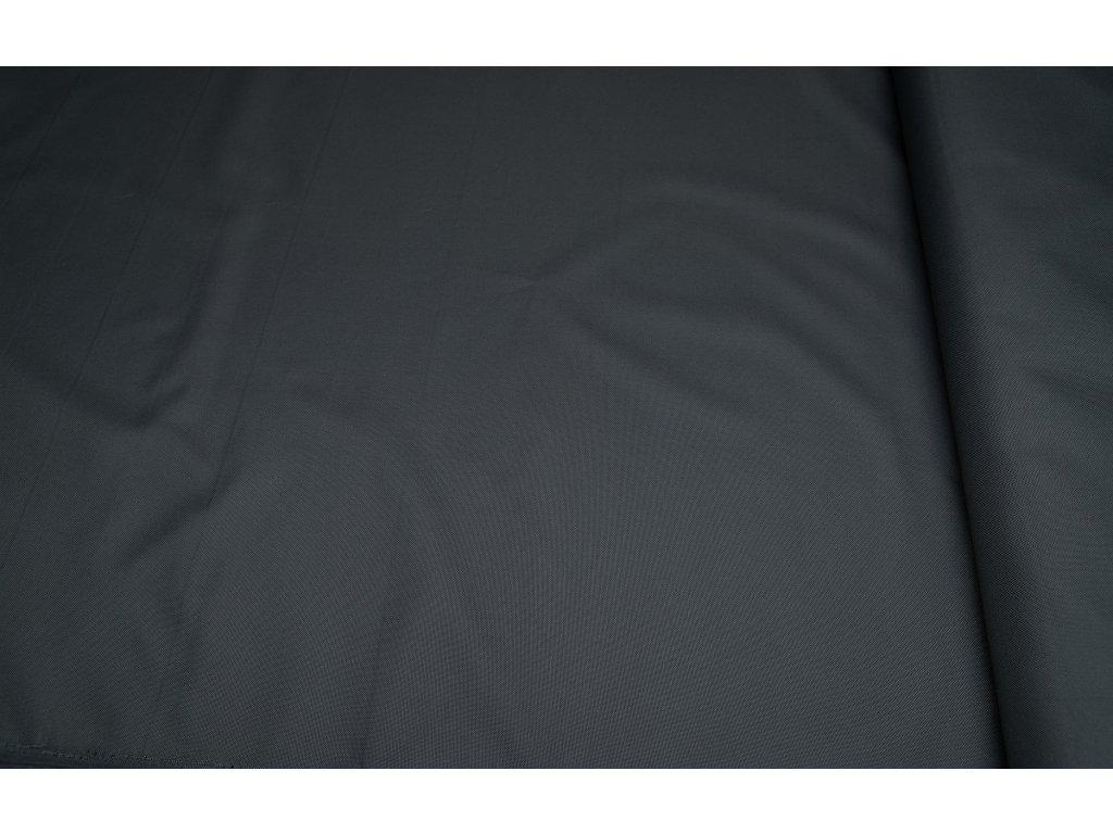 Kočárkovina metráž šíře 160 cm, nepromokavá látka - tmavě šedá