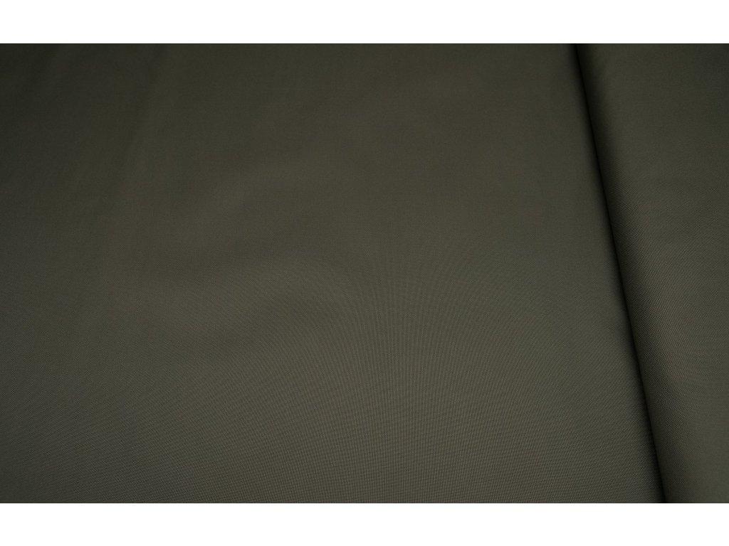 Kočárkovina metráž šíře 160 cm, nepromokavá látka - khaki