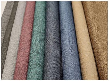 Kočárkovina - L83 modrý melír