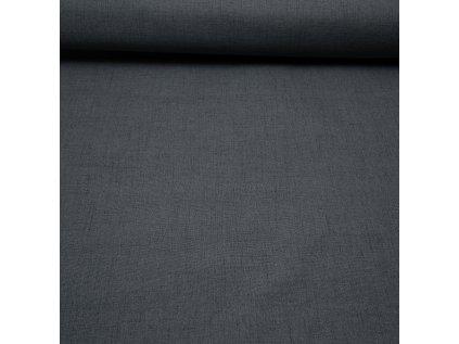 Zatemňovací látka na závěsy 100% black out, šířka 280cm - Loft tm.šedý