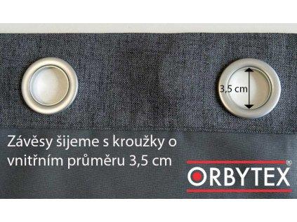 Zatemňovací závěs hotový - Oskar
