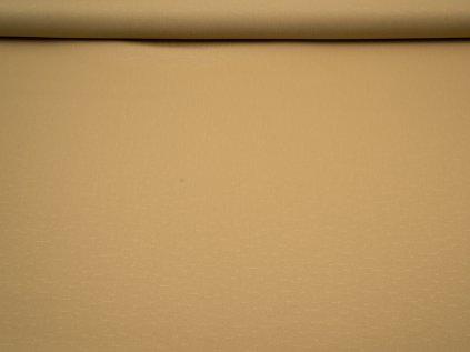 Látka s nešpinivou úpravou šíře 160 cm, oboustranná - béžová