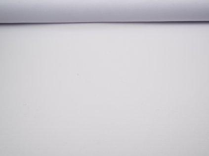 Látka s nešpinivou úpravou šíře 160 cm, oboustranná - bílá