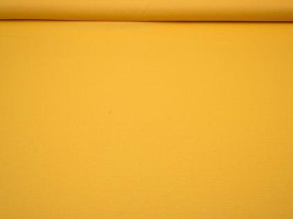 Látka s nešpinivou úpravou šíře 160 cm, oboustranná - žlutá