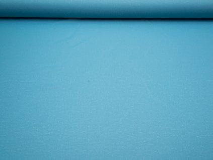 Látka s nešpinivou úpravou šíře 160 cm, oboustranná - sv.modrá